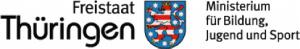 Logo Freistaat Thüringen - Fördert die Schulsozialarbeit der SABEL Schule Saalfeld
