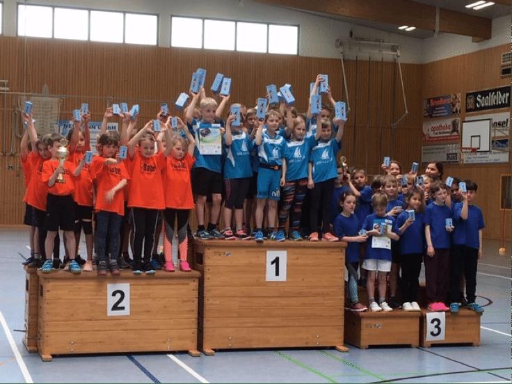 Siegerehrung Staffellauf